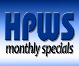 Monthly specials from HPWS